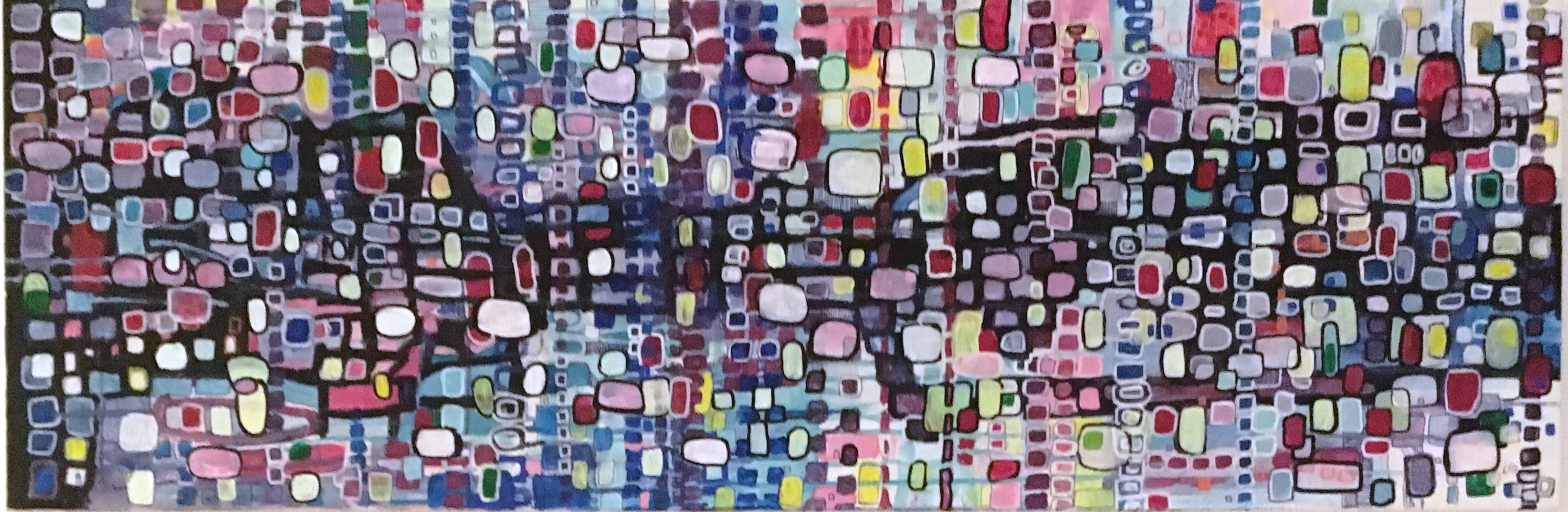Fifty years on the planet earth_40x120 cm