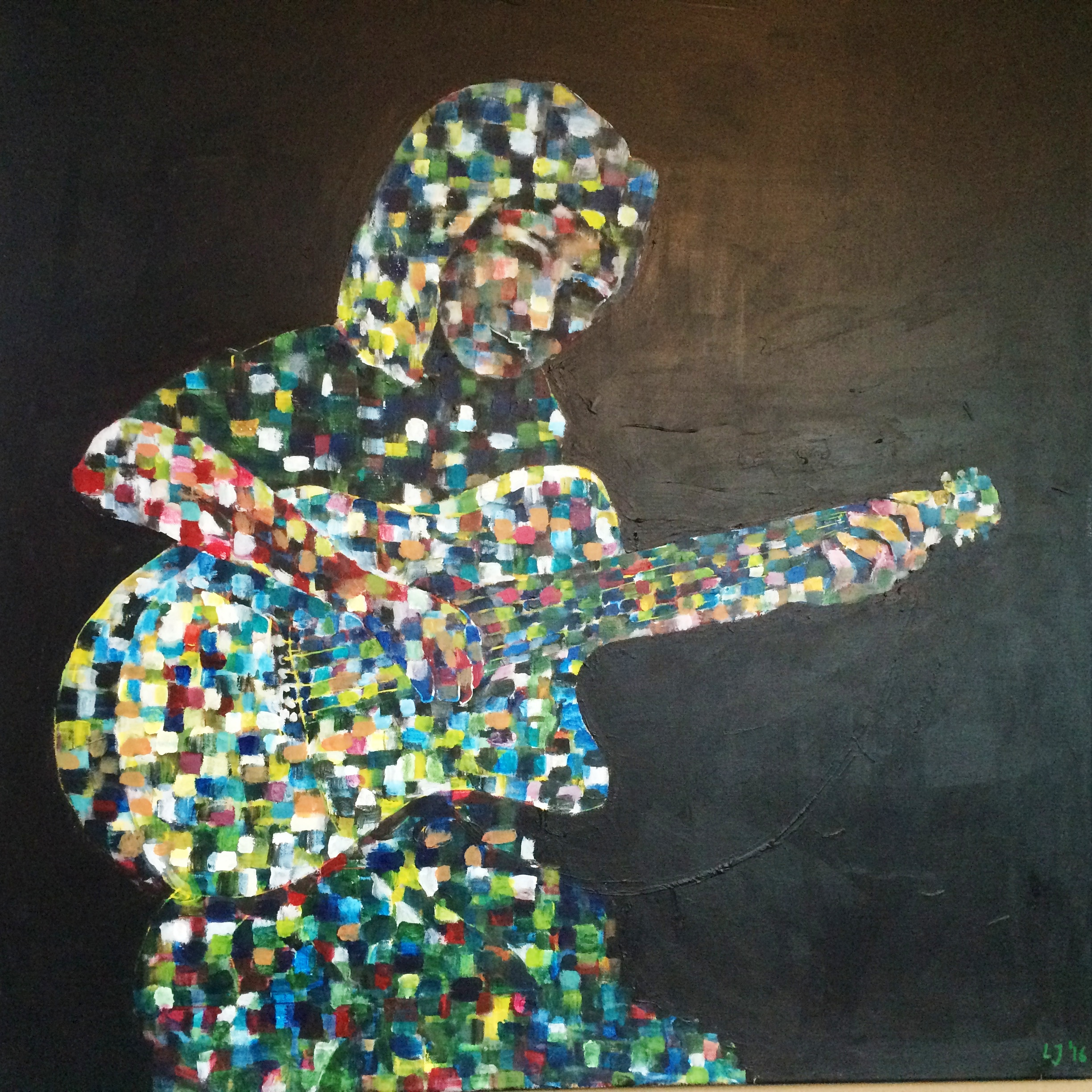 Mosaic 6_Sound of life_100 x 80 cm